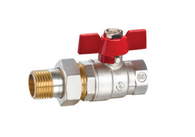 ART.1188   Ball valve with union