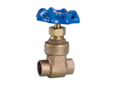 ART.2105  Bronze solder gate valve