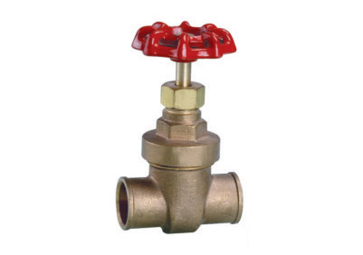 ART.2117  Bronze solder gate valve