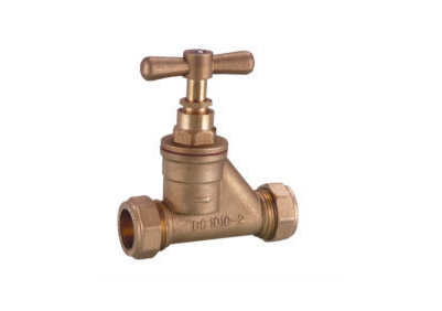 ART.3109  Stop valve wiht compression
