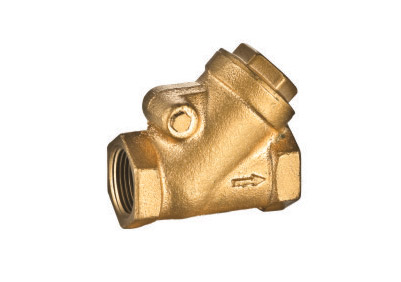ART.6105 Y Pattern check valve in brass & bronze
